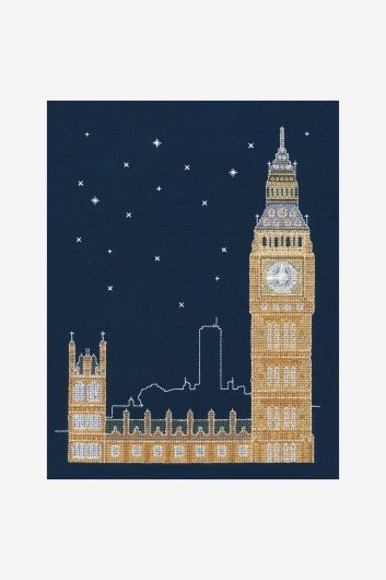 BK1723 - Glow in the Dark - London Cross Stitch Kit