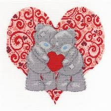 BL1075/72 - Me to You Tatty Teddy Love Bears Cross Stitch Kit