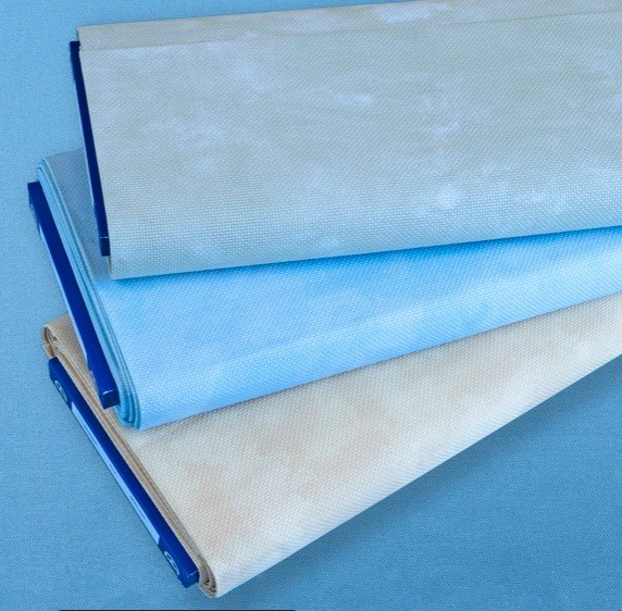 14 Count DMC Marble Aida Offer FQ - Marble Blue (3325)