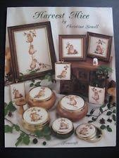 Framecraft Harvest Mice by Christine Sewell Cross Stitch Booklet