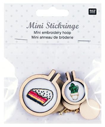 Mini Embroidery Hoops
