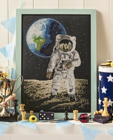Cross Stitcher Project Pack - One Giant Leap XST346