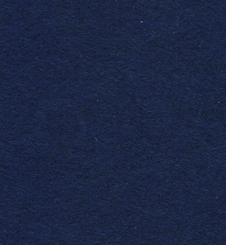 Felt Square Navy 30% Wool - 9in / 22cm