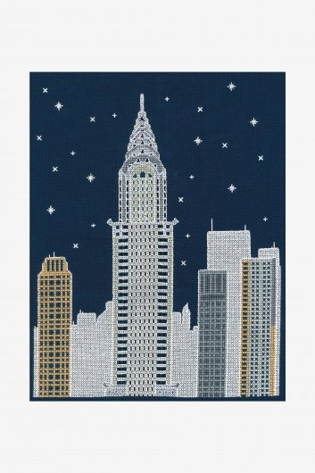 BK1724 - Glow in the Dark - New York Cross Stitch Kit