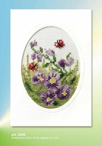 Orchidea Card kit - Violas