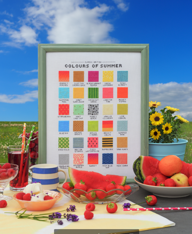 Cross Stitcher Project Pack - Perfect Palette - XST360