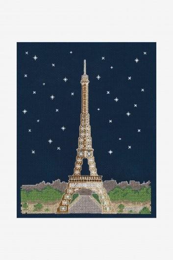 BK1725 - Glow in the Dark - Paris Cross Stitch Kit