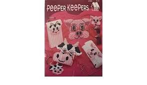 Annies Attic Peeper Keepers Chart Leaflet