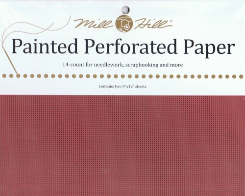 PP20 - Mill Hill Winterberry Perforated Paper
