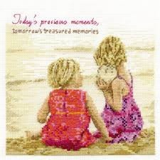 DMC Cross Stitch Kit BK1344 - Precious Moments