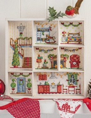 Cross Stitcher Project Pack - Deck The Halls XST350