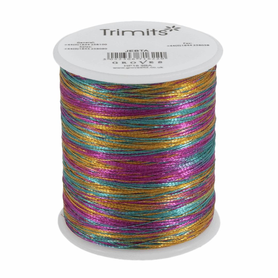 Trimits Metallic Thread - Rainbow