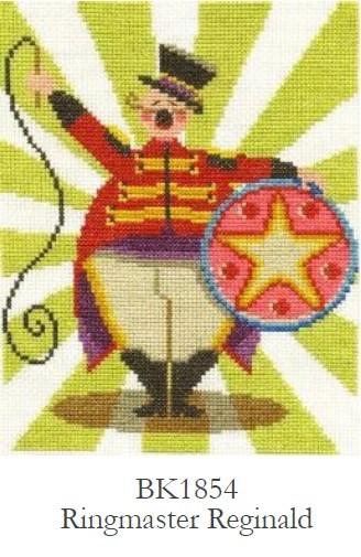 DMC Ringmaster Reginald  Cross Stitch Kit - BK1854