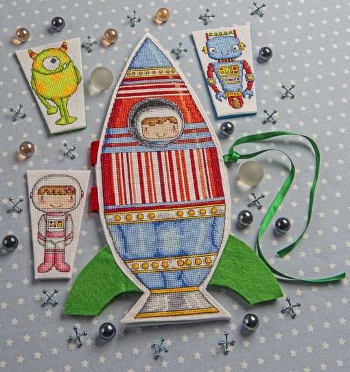 Cross Stitcher Project Pack - Lift Off! XST343