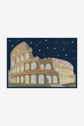 BK1727 - Glow in the Dark - Rome Cross Stitch Kit