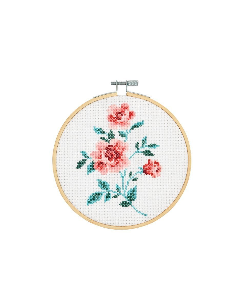 DMC Rose Cross Stitch Kit - BK1830