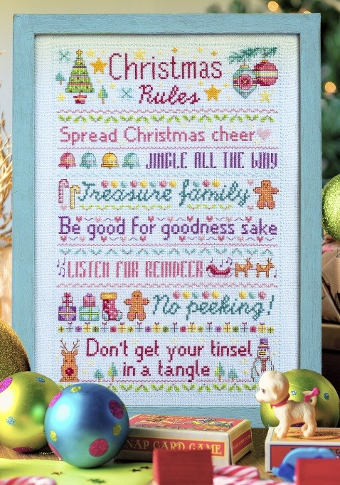 Cross Stitcher Project Pack - Yule Rules XST339