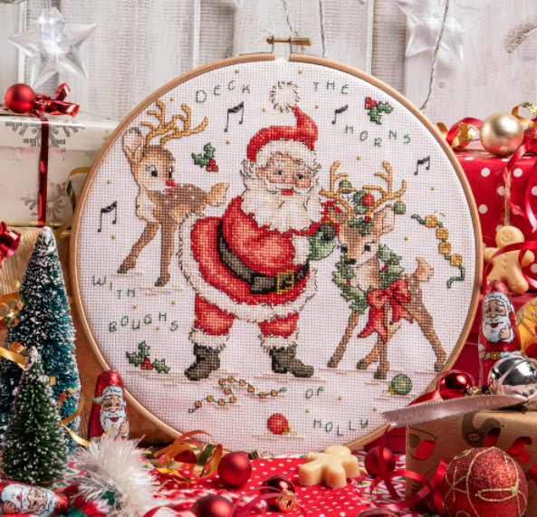 Cross Stitcher Project Pack - Jolly Holly-Days - XST364