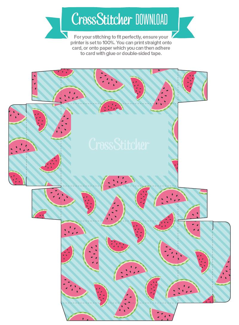Cross Stitcher 334 Burst of Summer box to print