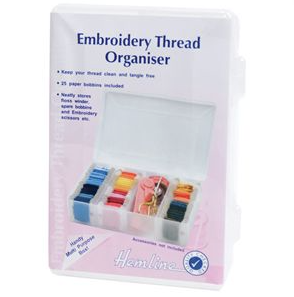 Medium Hemline Embroidery Thread Storage Box
