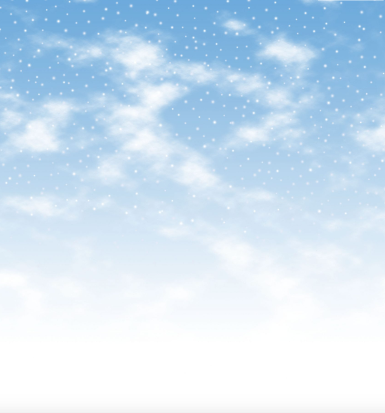 Fabric Flair 14ct Aida Snowy Days Blue