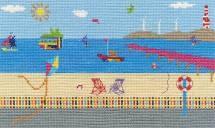 DMC BK1554 - Sea View Cross Stitch Kit