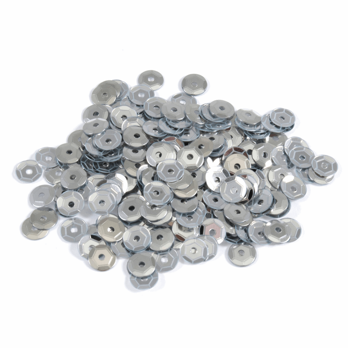 Cup Sequins Silver