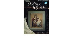 Leisure Arts Silent Night, Holy Night Cross Stitch Chart Leaflet