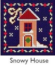 DMC Snowy House Cross Stitch Kit
