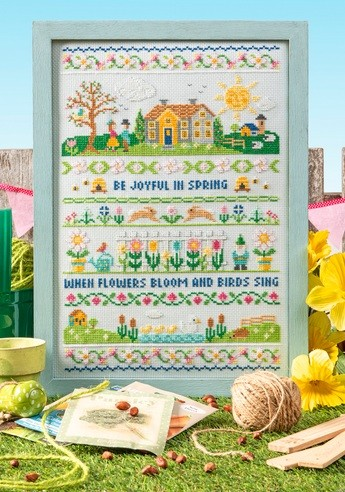 Cross Stitcher Project Pack - A Song For Spring - XST354