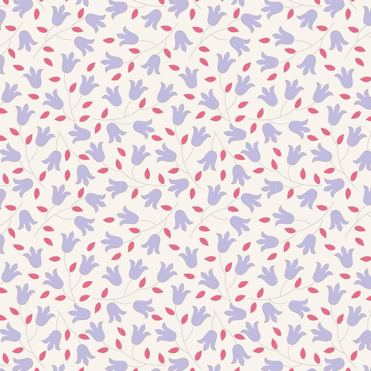 Tilda 100% Cotton Fabric Sophie Blue Fat Qtr