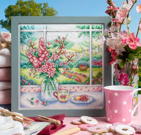 Cross Stitcher Project Pack - Buds Of May - XST356