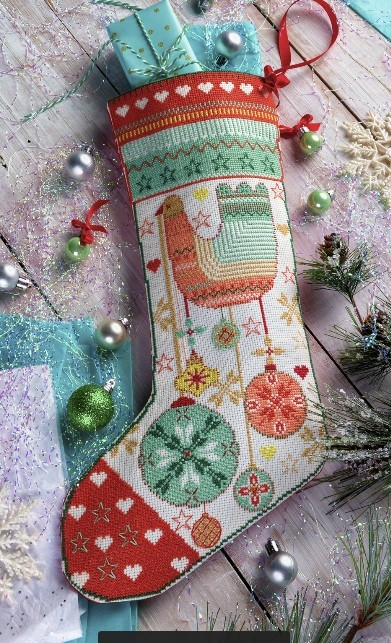 Cross Stitcher Project Pack - All I Want For Christmas Stocking XST338