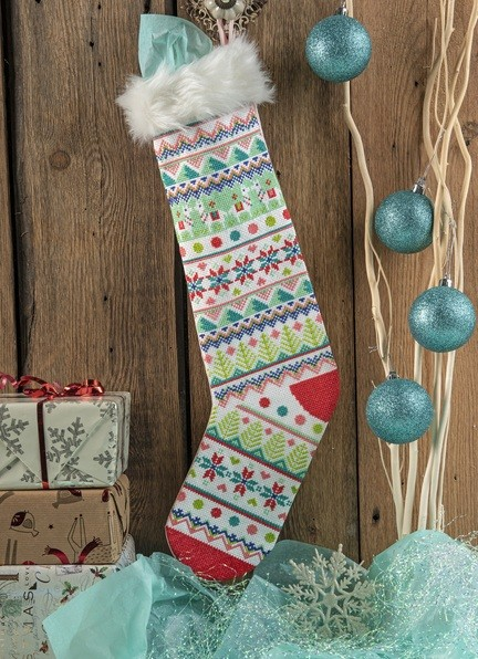 Cross Stitcher Project Pack - Happy Hygge Christmas XST352