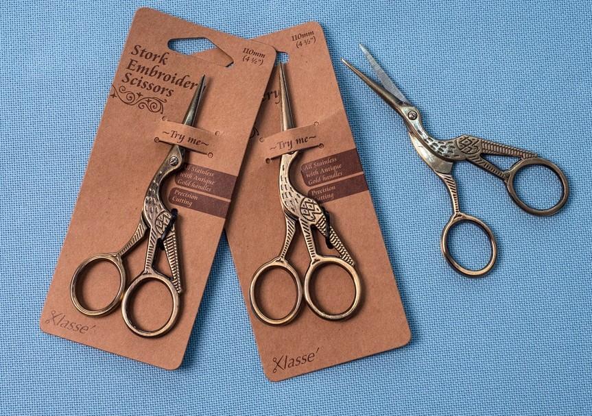 Antique Stork Scissors - Klasse