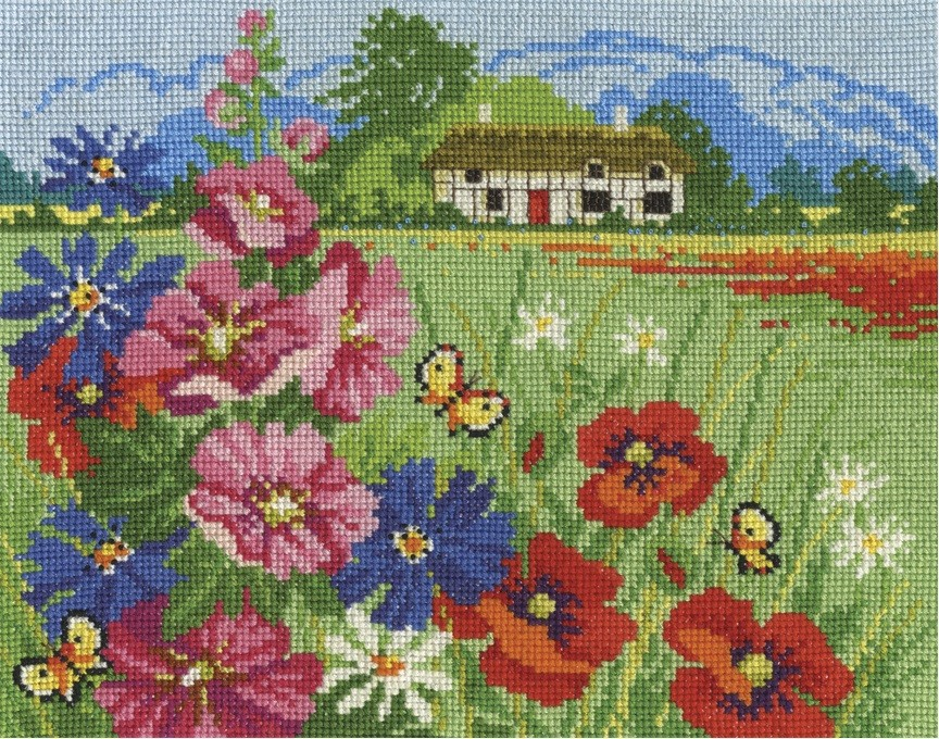 DMC Seasons In Bloom Cross Stitch Kit - Summer