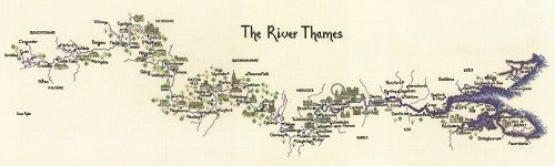 MRT981 - The River Thames Cross Stitch Kit