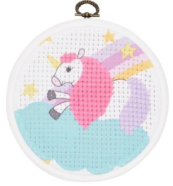 DMC Stitch It Jr!  The Unicorn BK1841