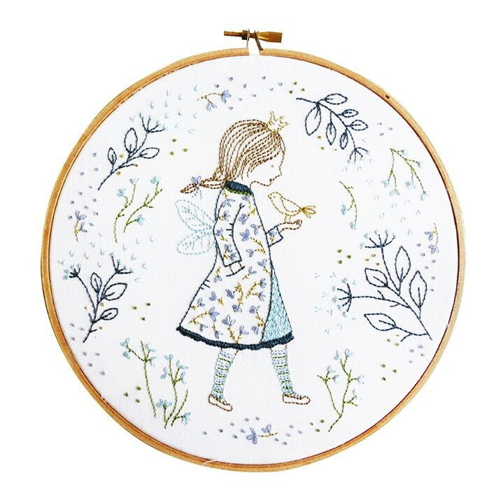 TMREMB51 - Winter Fairy Printed Embroidery Kit