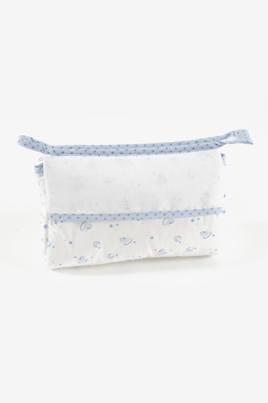 DMC Blue Toiletry Bag