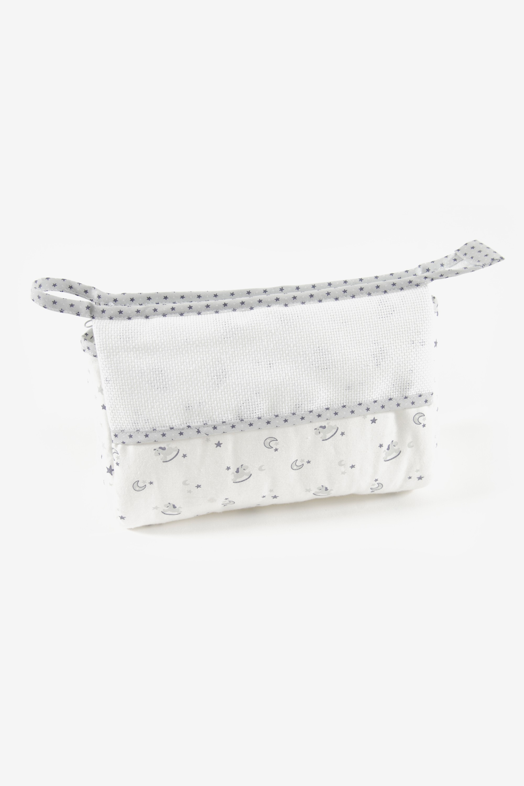 DMC Grey Toiletry Bag