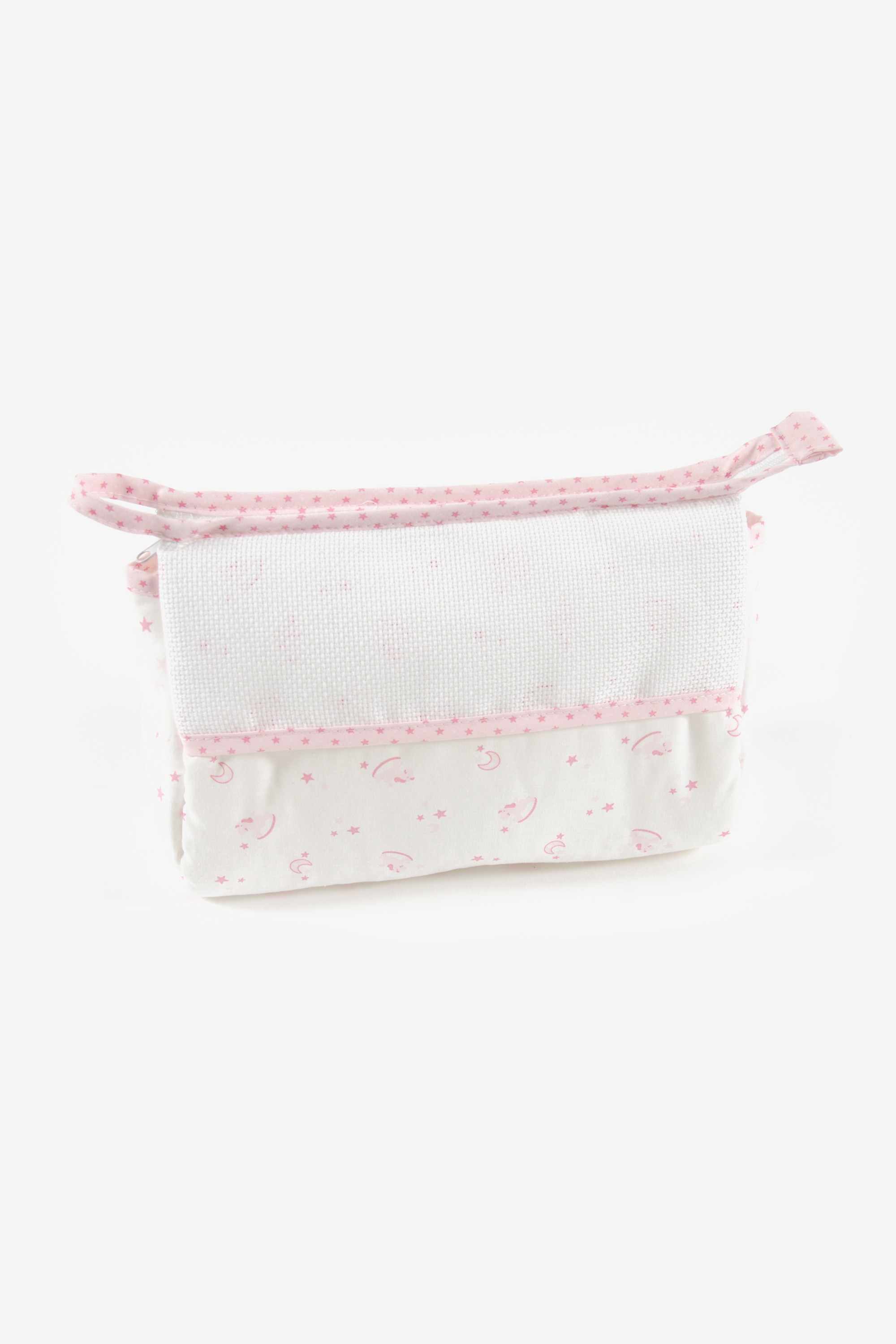 DMC Pink Toiletry Bag