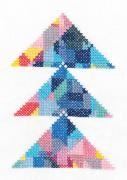 TB112 - Geometry Rules Triangulation Printed Embroidery Kit