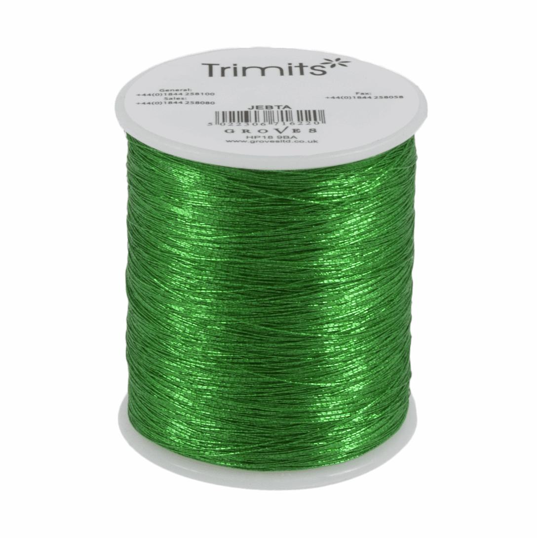 Trimits Metallic Thread - Emerald Green