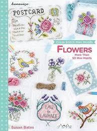 Tuva Cross Stitch Mini Motifs Book - Flowers