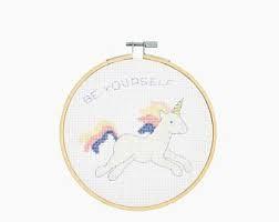 DMC Unicorn Cross Stitch Kit - BK1836