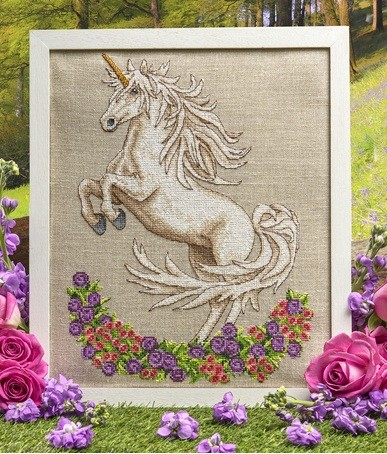 Cross Stitcher Project Unicorn - Issue 348