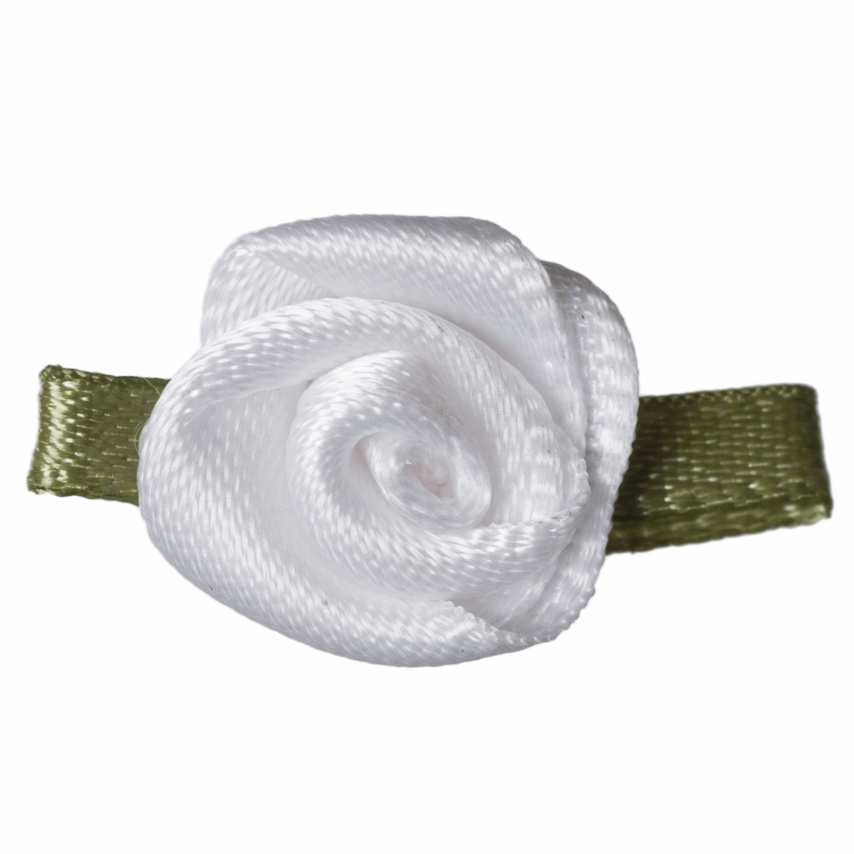 White Ribbon Roses - pack of 10
