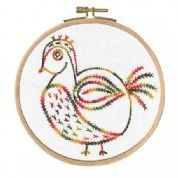 BL1154/74 - Why Am I Here? - Little Birds Printed Embroidery Kit