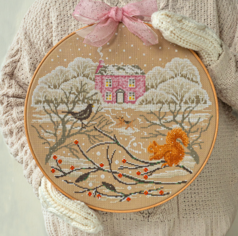 Cross Stitcher Project Pack - Snow Place Like Home -  XST365